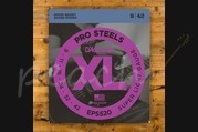 D'addario EPS520 Electric Guitar Strings - Pro Steels Super Light Guage