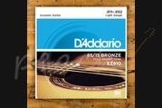 D'addario - 11-52 Light 85/15 Bronze