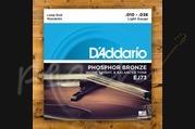 D'Addario - 10-38 Phosphor Bronze Mandolin Strings Light