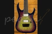 Ibanez 2018 Iron Label RGIX7FDLB-Northern Lights Burst