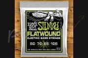 Ernie Ball Slinky Cobalt Flatwound Bass Regular 50-105