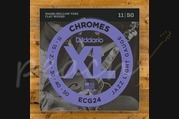 D'addario Chromes Jazz Light 11-50 ECG24