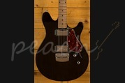 Ernie Ball Music Man Valentine Guitar Trans Black