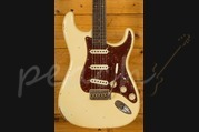 Fender Custom Shop Roasted 1960 Strat Relic Aged Vintage White