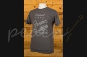 Fender Original Strat T-Shirt Charcoal