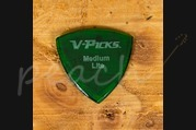 V-Picks Medium Pointed Lite Emerald Green
