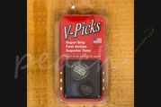V-Picks Medium Round Great Britain (1 x Red, 1 x Clear, 1 x Blue per bag)