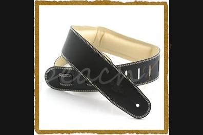DSL GEG25-15-3 Genuine Leather 2.5 inch -Black/Beige-