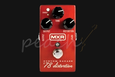 MXR Custom Badass Distortion '78 Pedal