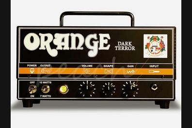 Orange Dark Terror 15w Class A amp head