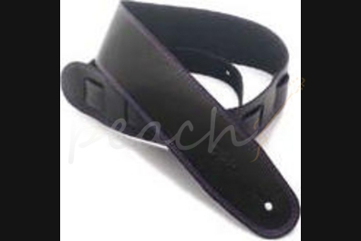 "DSL SGE25-15-9 Leather 2.5"" Black with Purple Stitching"
