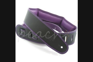 "DSL GEG-35-15-9 Leather 3.5"" Black with Purple Backing"