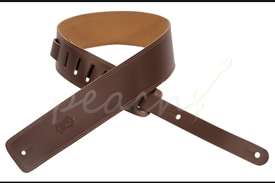 "Levy's 2.5"" Leather double stitch - Brown DM1-BRN"