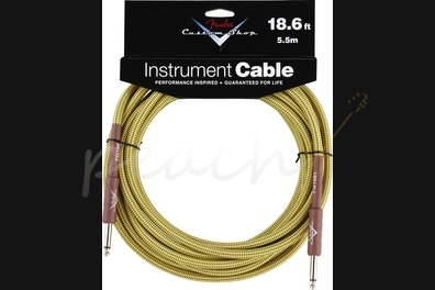 Fender Custom Shop 18.6ft instrument Cable Tweed