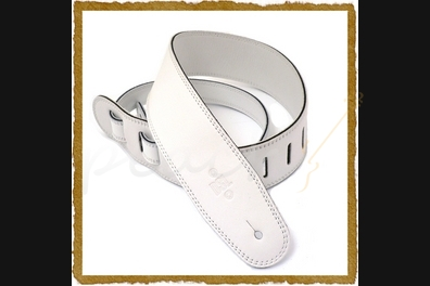 "DSL GLG-25-14 2x5"" White Leather Strap"