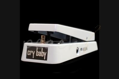 Jim Dunlop GCB95 Crybaby Wah Pedal Ltd White Sparkle