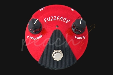 Jim Dunlop Fuzz Face Mini Germanium Red FFM2