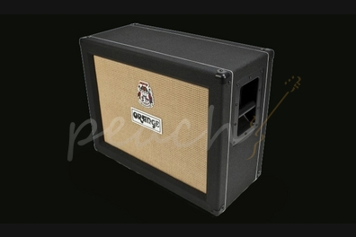 Orange 2x12 Closed Back Speaker Cabinet Black