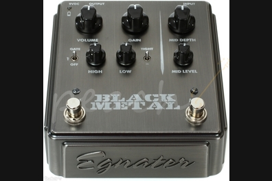 Egnater Black Metal High Gain Distortion Pedal
