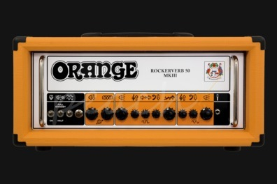 Orange Rockerverb MKIII Twin channel head 50 watt Orange
