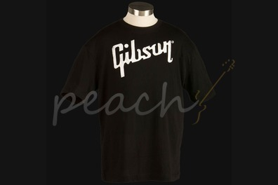 Gibson Logo T-shirt in Black