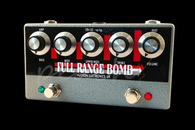Hudson Electronics Full Range Bomb Studio Grade Boost Pedal