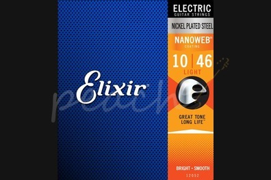 Elixir Electric Nickel Nanoweb Strings - 10-46 (Light)