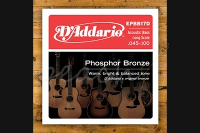 D'addario EPBB170 SET ACOUSTIC BASS PB 45-100