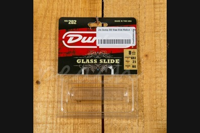 Jim Dunlop 202 Glass Slide Medium - Regular thickness