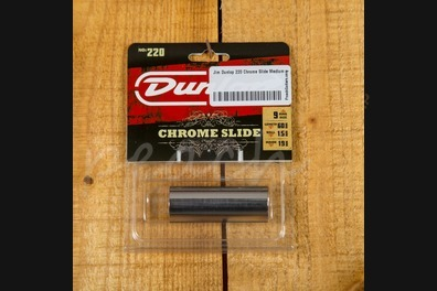 Jim Dunlop 220 Chrome Slide Medium - Medium thickness