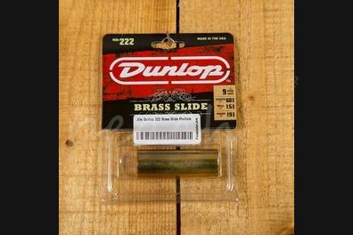 Jim Dunlop 222 Brass Slide Medium - Medium thickness