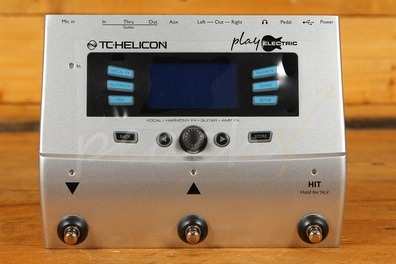TC Helicon Play Electric Guitar and Vocal Multi Effects unit