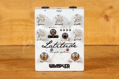 Wampler Latitude Deluxe Tremolo Pedal Latest Version
