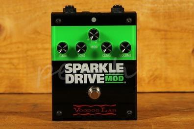 Voodoo Lab Sparkle Drive Mod Guitar Pedal Effect