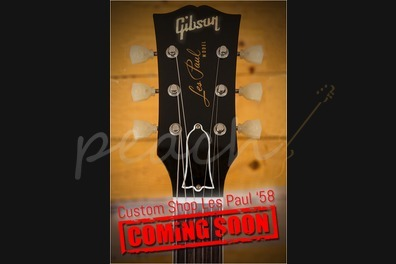 Gibson Custom '58 Les Paul Ltd Run Faded Tobacco Gloss