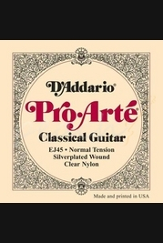D'addario Pro Arte EJ45 Normal Yension