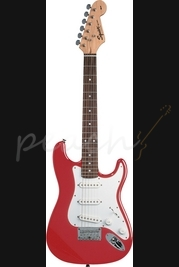 Squier Mini Strat Red