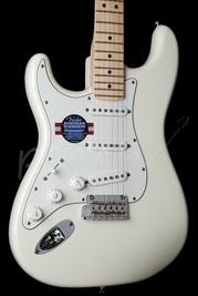 Fender American Standard Strat White Maple Left Handed