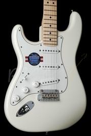 Fender American Standard Strat White Maple Left Handed