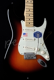 Fender American Deluxe Strat Maple Neck 3 Tone Sunburst