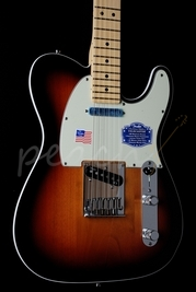 Fender American Deluxe Tele Maple neck Sunburst