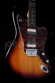 Squier Vintage Modified Jaguar HH 3 Tone Sunburst