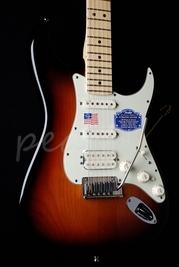 Fender American Deluxe Strat HSS Maple Sunburst