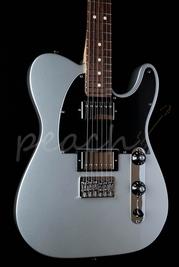 Fender Blacktop Tele HH RW Silver