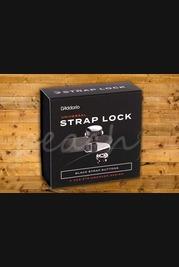 D'Addario NS Strap Lock System - Black