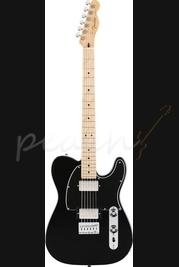 Fender Blacktop Tele HH MN Black