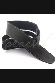"DSL SGE25-15-4 Leather 2.5"" Black with Grey Stitching"