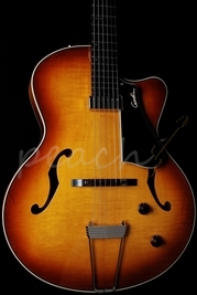 Godin 5th Avenue Jazz Cognac burst HG with case