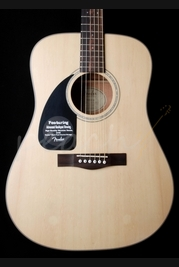 Fender CD-100 Left Handed Acoustic Natural