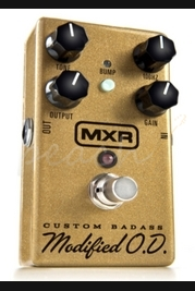 MXR Custom Badass Overdrive Sparkly Gold Limited